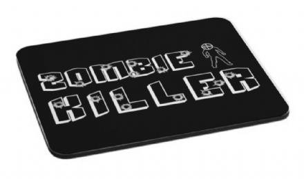 Zombie Killer 1 Mouse Mat